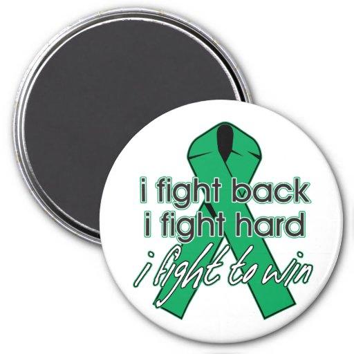 Liver Disease I Fight Back Refrigerator Magnet