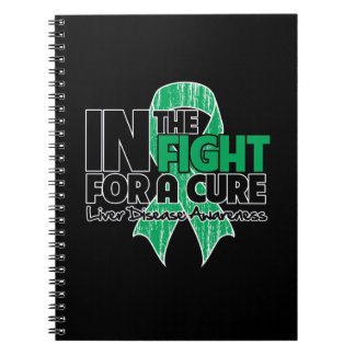 Liver Disease In The Fight For a Cure Notebook