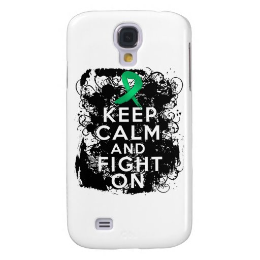 Liver Disease Keep Calm and Fight On Samsung Galaxy S4 Cases