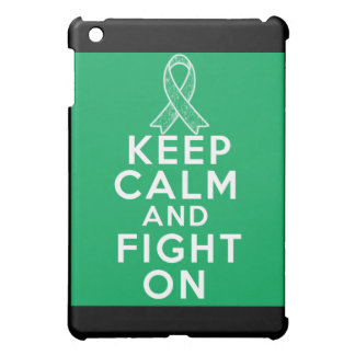Liver Disease Keep Calm and Fight On iPad Mini Cases