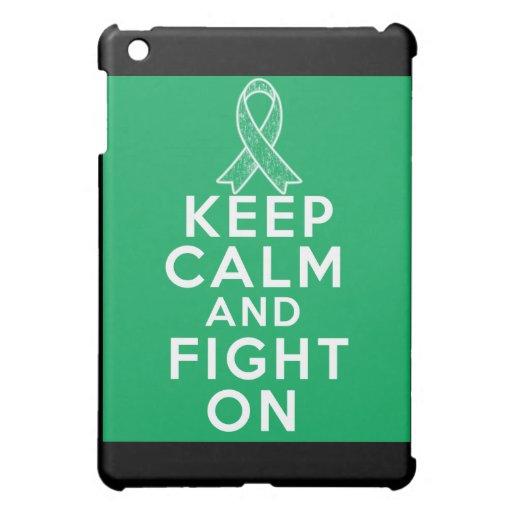 Liver Disease Keep Calm and Fight On iPad Mini Cases