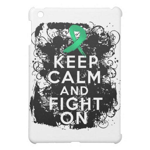 Liver Disease Keep Calm and Fight On iPad Mini Cover