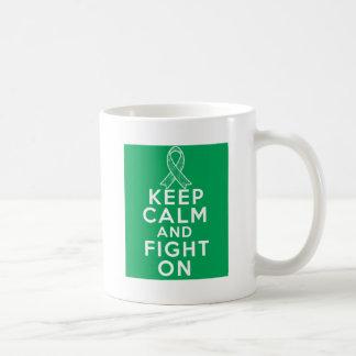 Liver Disease Keep Calm and Fight On Mug