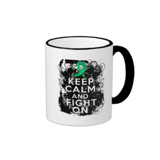 Liver Disease Keep Calm and Fight On Mugs