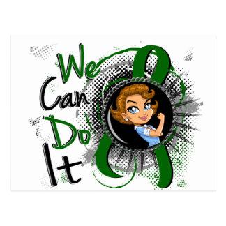 Liver Disease Rosie Cartoon WCDI.png Postcard