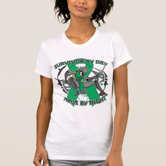 Liver Disease Survivor By Day Ninja By Night T Shirts