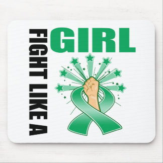 Liver Disease Victory Fight Like A Girl Mouse Pads