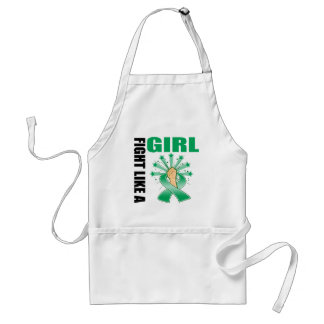 Liver Disease Victory Fight Like A Girl Standard Apron