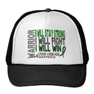 Liver Disease Warrior Hat
