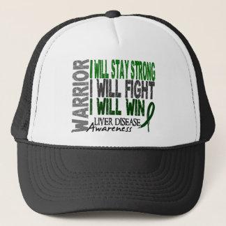 Liver Disease Warrior Trucker Hat