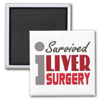 Liver Surgery Survivor Magnet