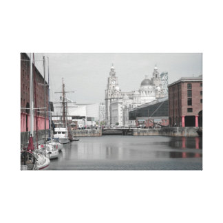 Liverpool Albert Dock Canvas Print