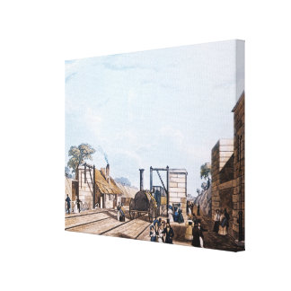 Liverpool and Manchester Railway: Canvas Print