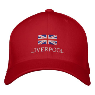 Liverpool City Hat - United Kingdom Flag Cap Embroidered Hats