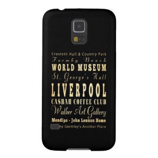Liverpool City of United Kingdom Typography Art Samsung Galaxy Nexus Covers