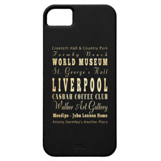 Liverpool City of United Kingdom Typography Art iPhone 5 Cover