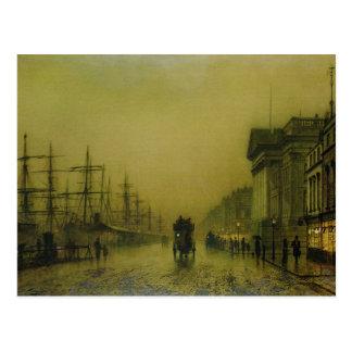 Liverpool Docks Customs House and Salthouse Docks, Postcard