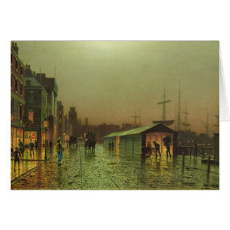 Liverpool Docks Greeting Card
