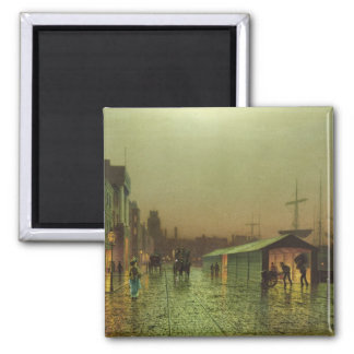 Liverpool Docks Square Magnet