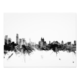 Liverpool England Skyline Photo Print