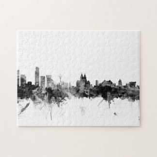 Liverpool England Skyline Puzzle