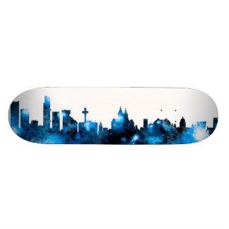 Liverpool England Skyline Skateboard Decks