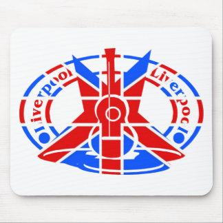 liverpool flag mousepad