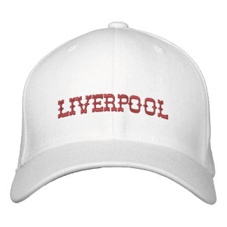 Liverpool Hat Embroidered Cap