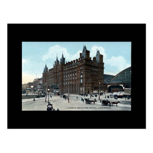Liverpool, North Western Hotel Post Cards