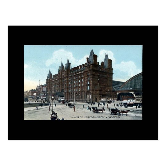 Liverpool, North Western Hotel Postcard
