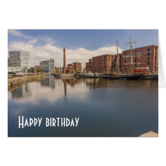 Liverpool Salthouse Dock Merseyside Travel Photo Card