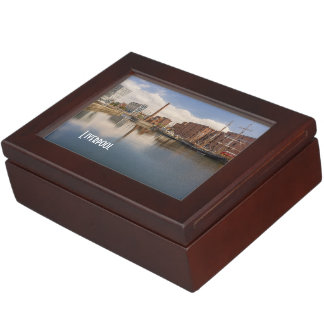 Liverpool Salthouse Dock Merseyside Travel Photo Keepsake Box