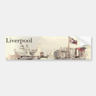 Liverpool scene bumper sticker