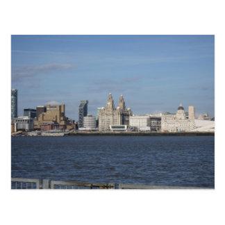 Liverpool Skyline Postcard