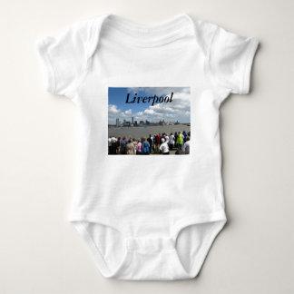 Liverpool Skyline T Shirts