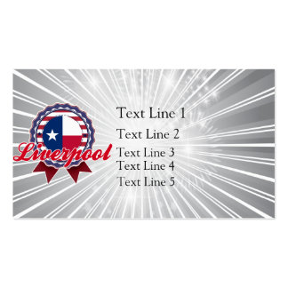 Liverpool, TX Business Card
