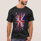 Liverpool Vintage Peeling Paint Union Jack Flag T-Shirt