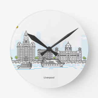 Liverpool Waterfront Clock
