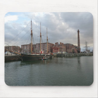 Liverpool's Albert Dock Mouse Mat