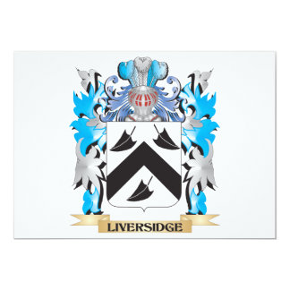 Liversidge Coat of Arms - Family Crest Card