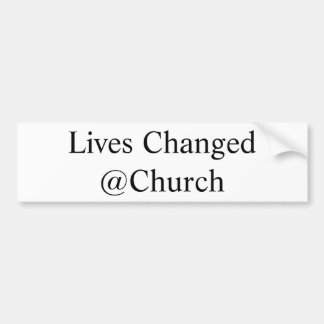 Lives Changed @Church sticker
