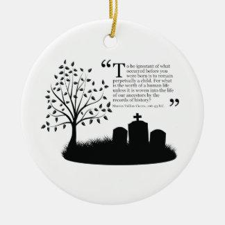 Lives Of Our Ancestors Christmas Ornament