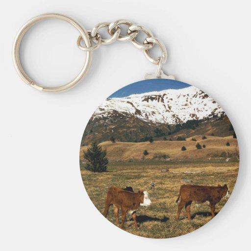 Livestock on Kodiak Key Chain
