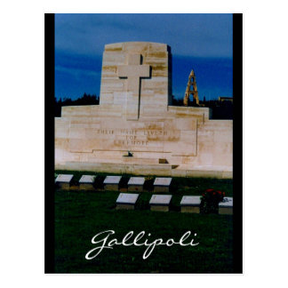 liveth ever more gallipoli postcard