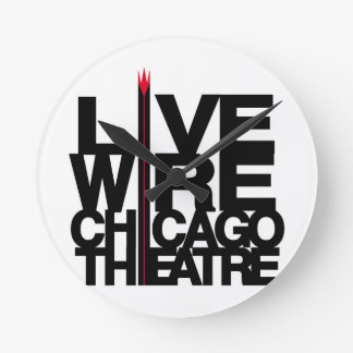 LiveWire Logo Round Clock
