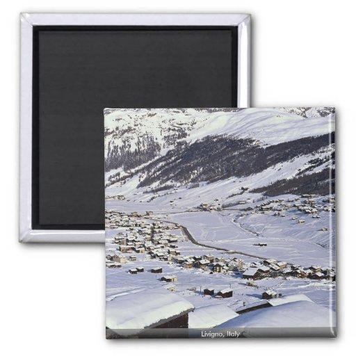 Livigno, Italy Refrigerator Magnets