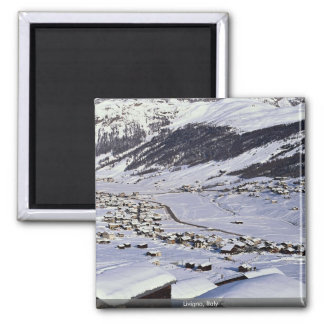 Livigno Italy Refrigerator Magnets