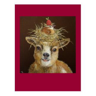 Livin' High on the Goat postcard
