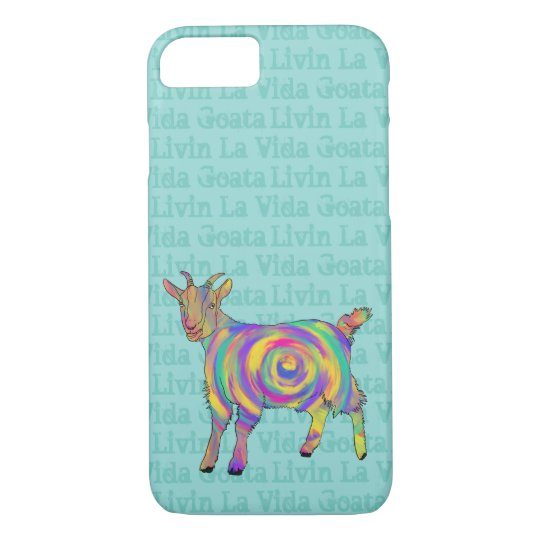 Livin La Vida Goata Funny Goat Animal Art
