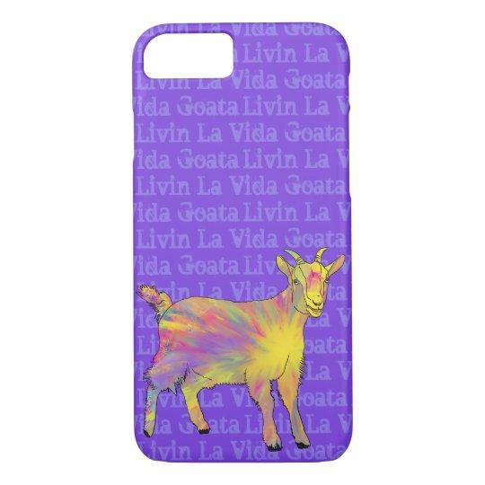 Livin La Vida Goata Funny Yellow Goat Animal